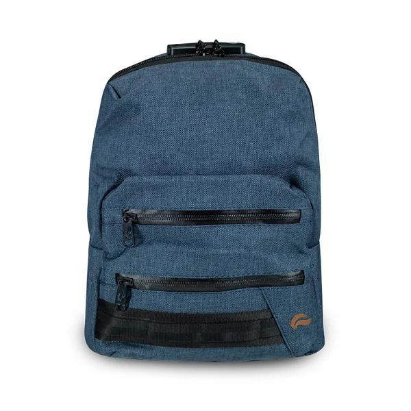Skunk Smell Proof Mini Backpack Eliminate Odor, Stink, and Smelly Scent in a Carbon Lined Airtight Storage Bag-Skunk-Blue-Deal Society