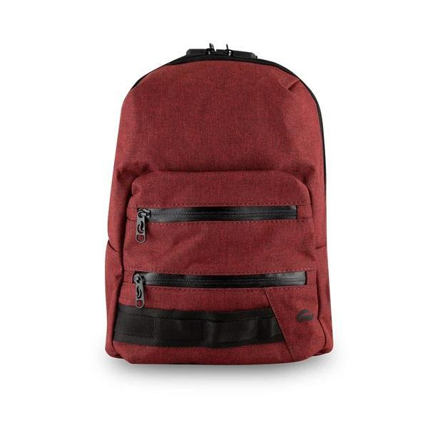 Skunk Smell Proof Mini Backpack Eliminate Odor, Stink, and Smelly Scent in a Carbon Lined Airtight Storage Bag-Skunk-Burgandy-Deal Society