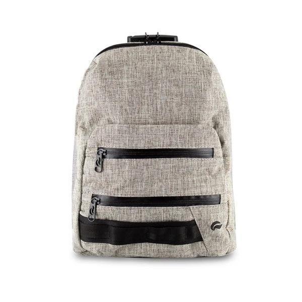 Skunk Smell Proof Mini Backpack Eliminate Odor, Stink, and Smelly Scent in a Carbon Lined Airtight Storage Bag-Skunk-Khaki-Deal Society
