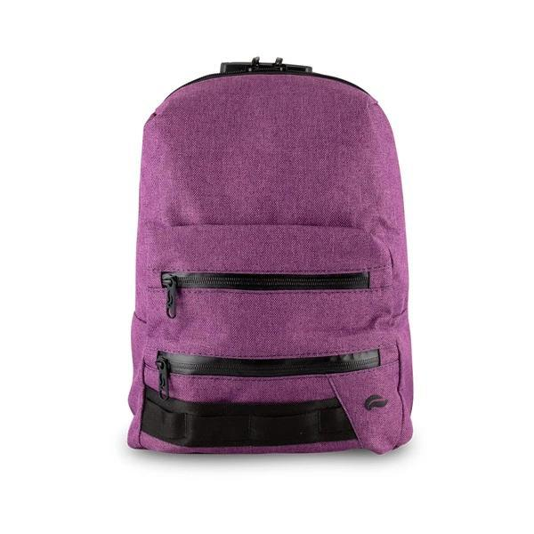 Skunk Smell Proof Mini Backpack Eliminate Odor, Stink, and Smelly Scent in a Carbon Lined Airtight Storage Bag-Skunk-Purple-Deal Society