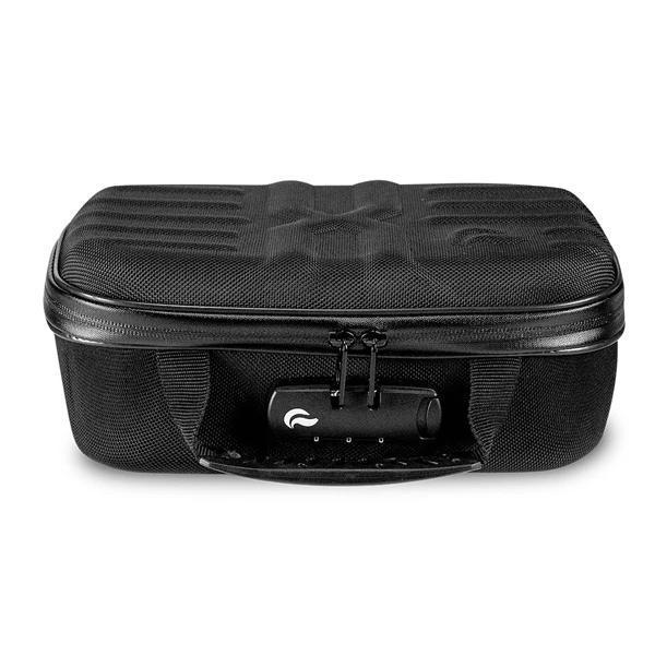 Skunk Smell Proof X-Case Stash Storage Case - Eliminate Odor, Stink, and Smelly Scent in a Carbon Lined Airtight Storage with Combo Lock-Skunk-Black-Deal Society