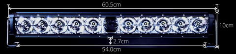 Laser Light Bar Dimensions