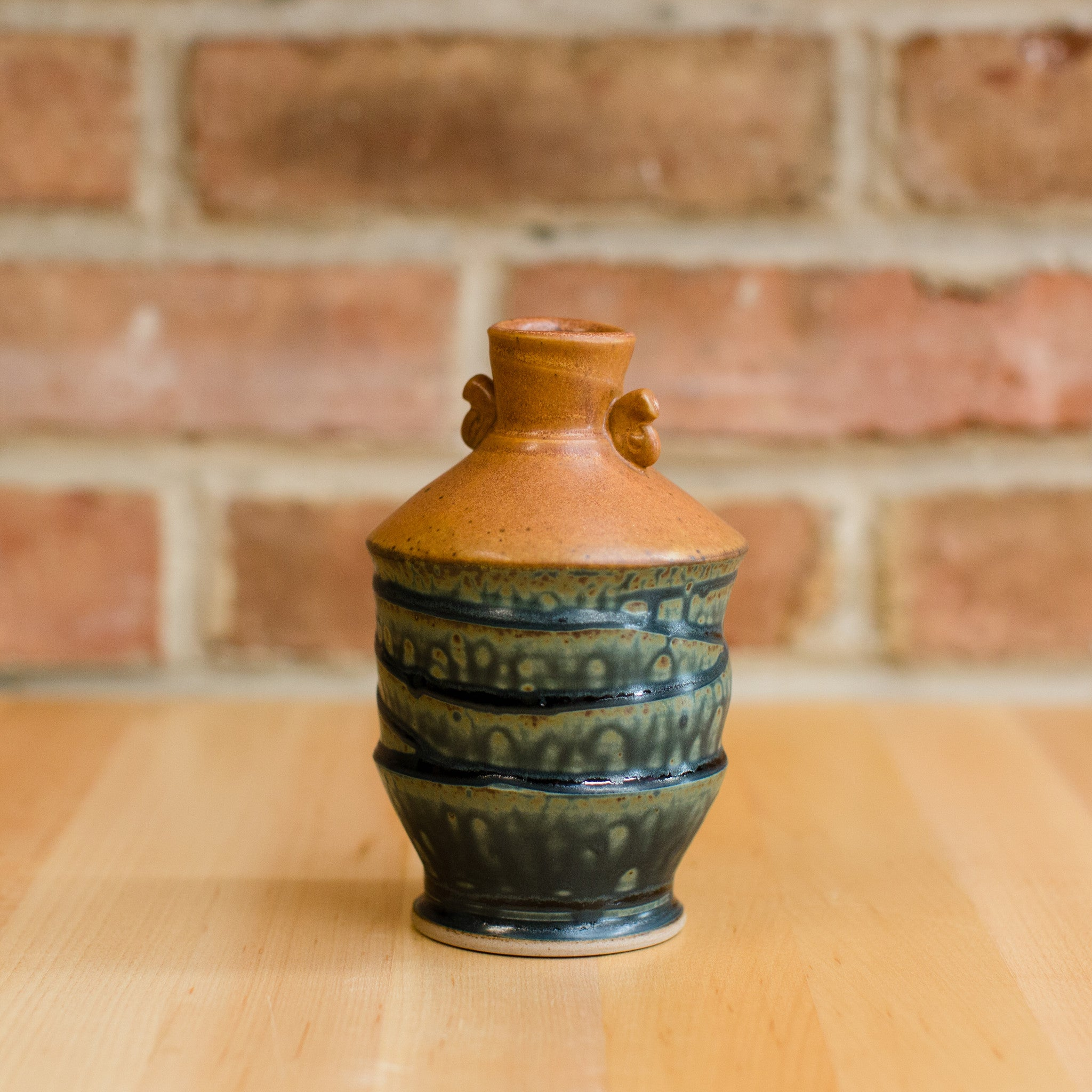 Royce Yoder - Bottle in Tan | Ash Glaze