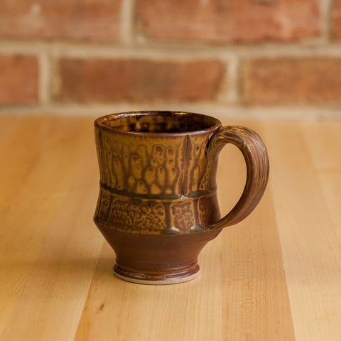 Royce Yoder - Mug in Brown Ash | Black Glaze