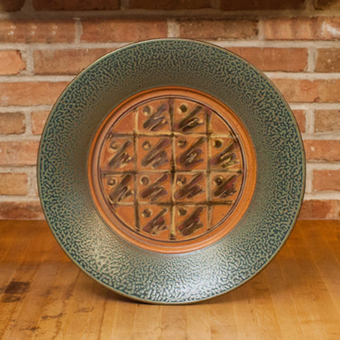 Platter in Tan | Ash Glaze
