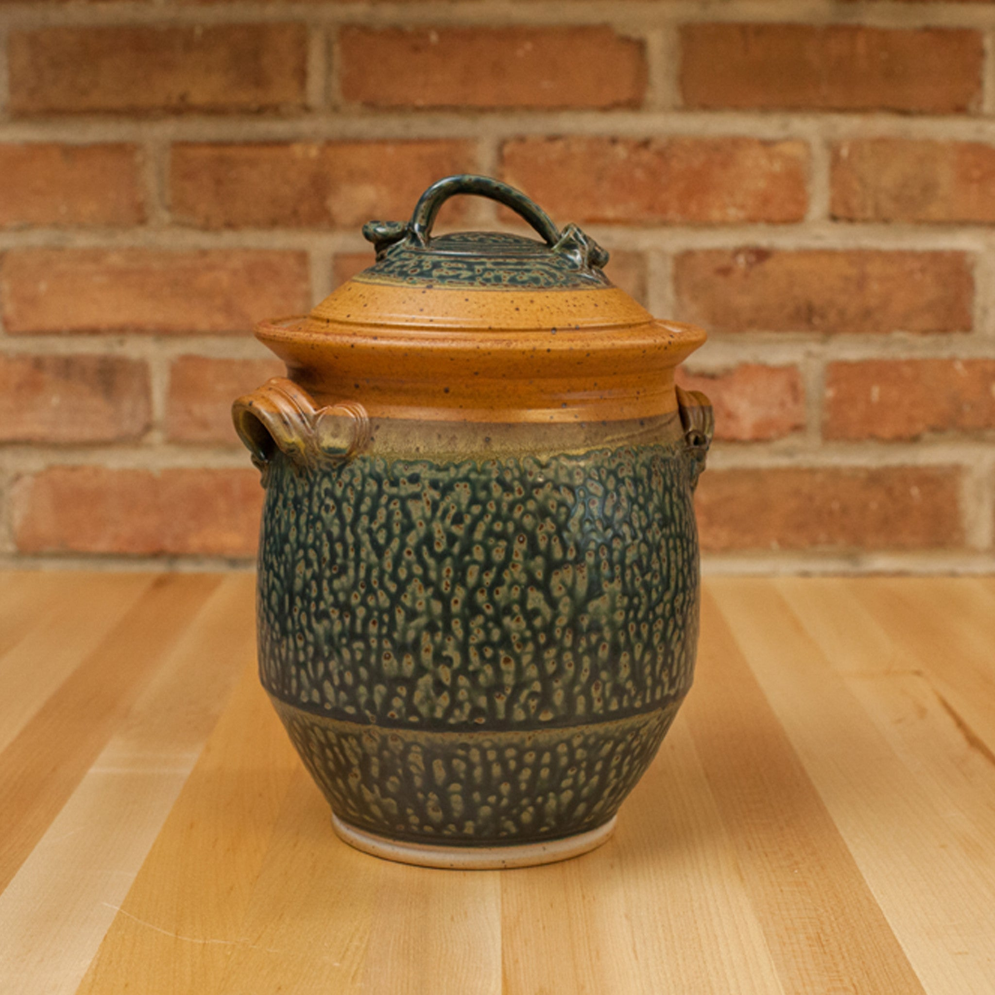 Royce Yoder - Cookie Jar in Tan | Ash Glaze
