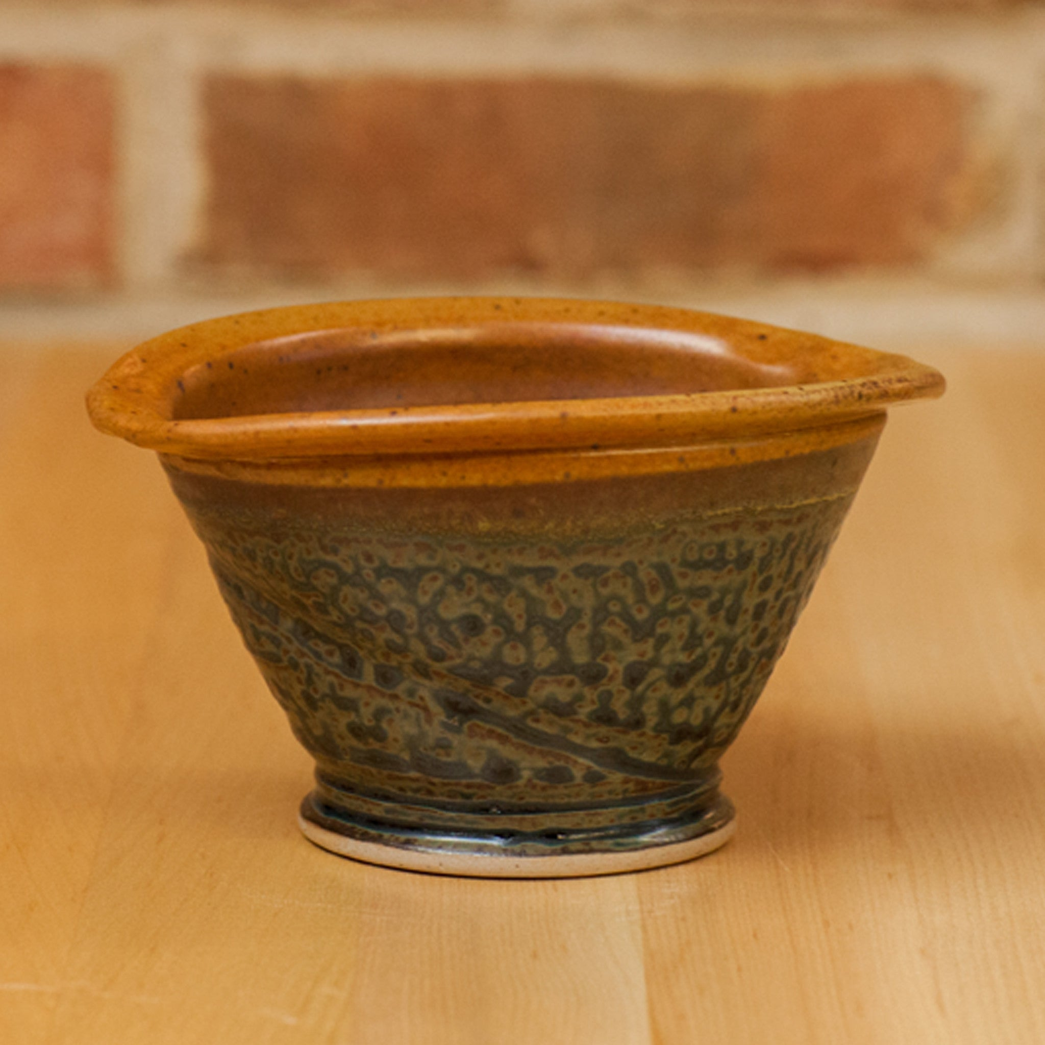 Royce Yoder - Crock in Tan | Ash Glaze