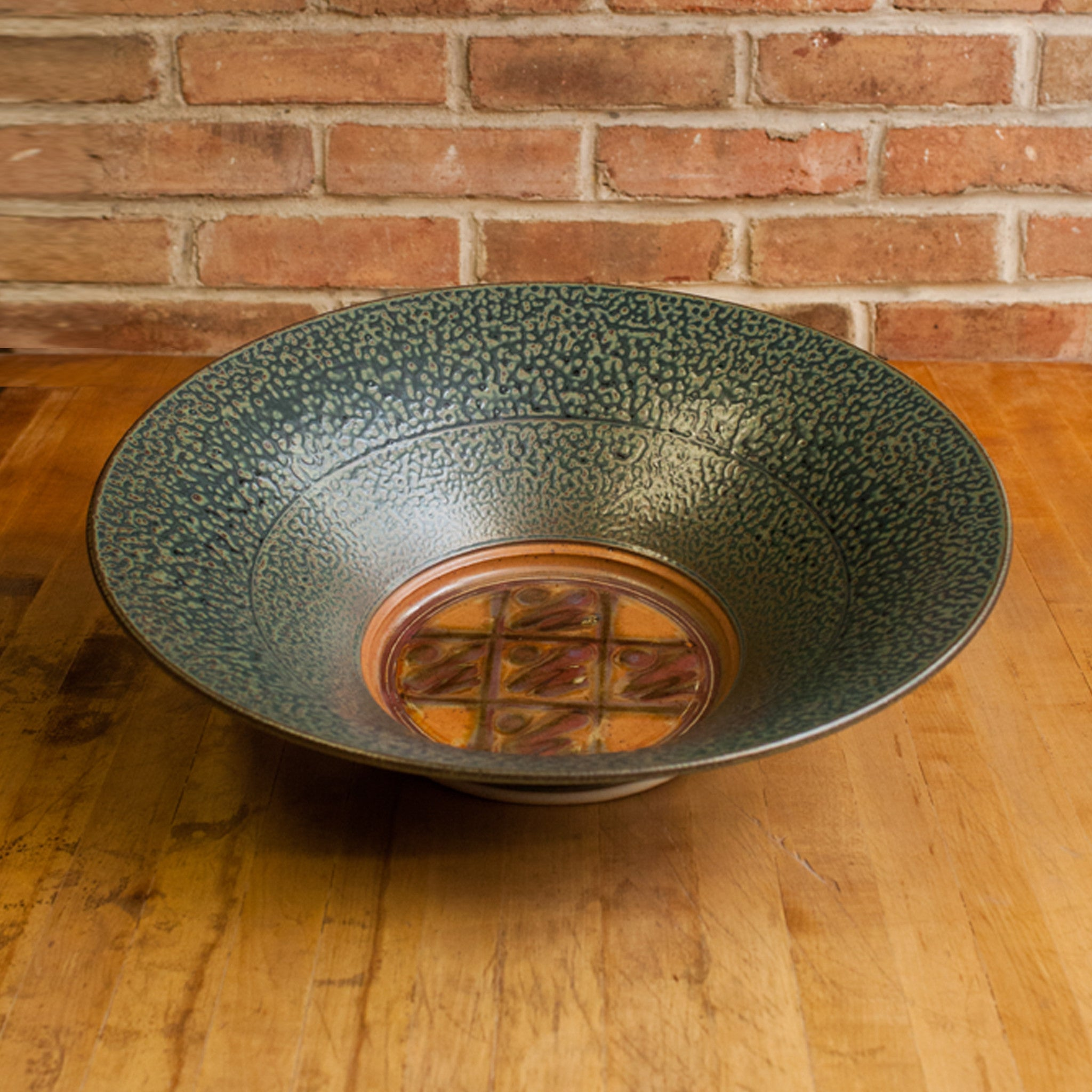 Royce Yoder - Flared Bowl in Tan | Ash Glaze