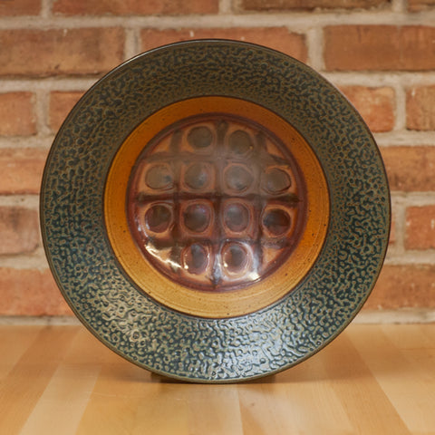 Royce Yoder - Serving Bowl in Tan | Ash Glaze