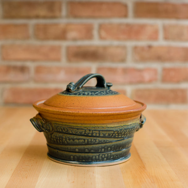 Casserole in Tan | Ash Glaze