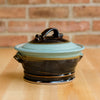 Casserole in Copper | Black Glaze