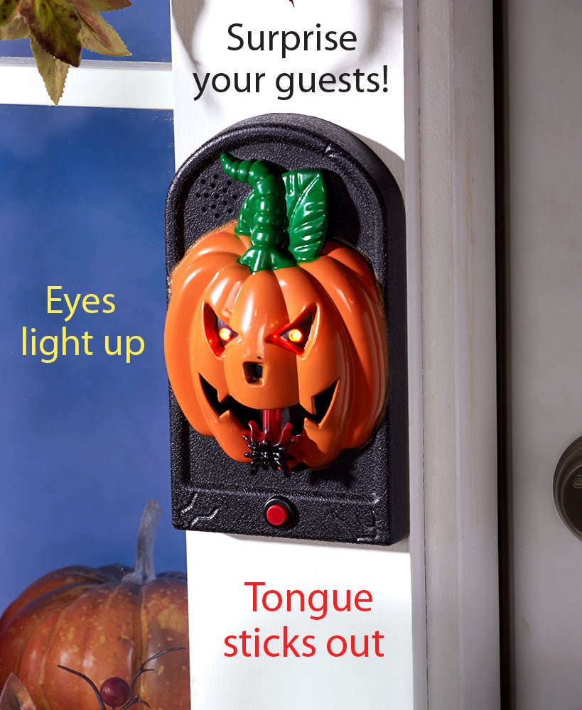 Spooky Animated Doorbells