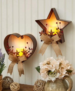 Lighted Country Wall Decor