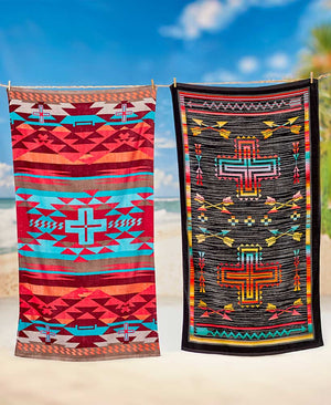 Desert Sands Oversized Beach Towels