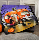 Halloween Camper Throw or Rug
