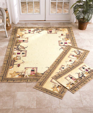 Coastal Decorative Rug Collection