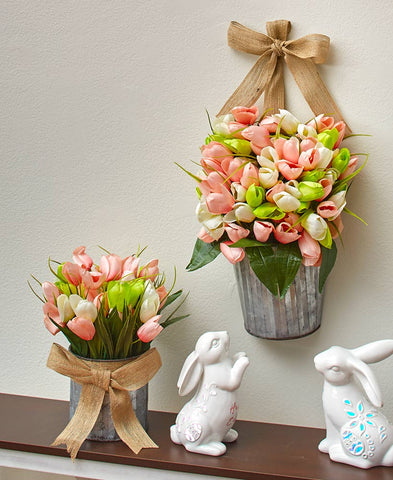 Artificial Tulip Arrangements