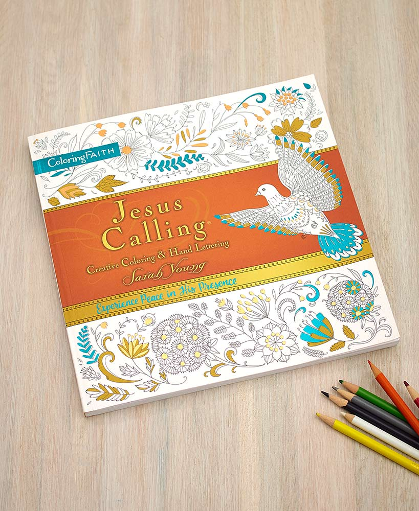 Jesus Calling® Coloring Book or Devotional