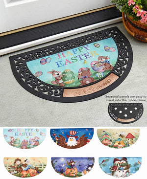 Interchangeable Seasonal Doormat Collection