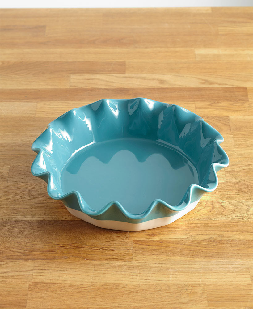 Ruffled Edge Pie Plates