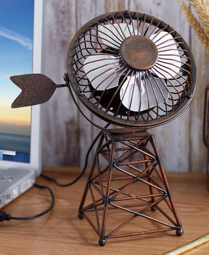 Themed USB Desktop Fans Choice of Windmill, or Antler