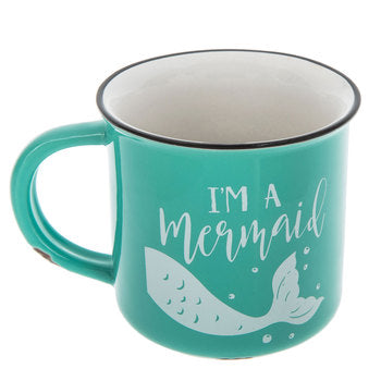 I'm A Mermaid Ceramic 14 oz. Mug