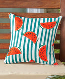 Indoor/Outdoor Summer Fun Pillows Choice of Keep Calm, Flamingo, Flip-Flops, Watermelon, or Pineapple