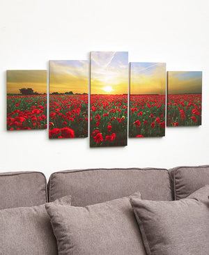 5-Pc. Canvas Wall Art Sets