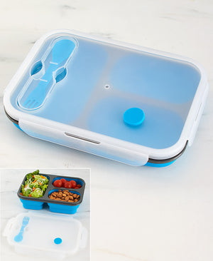 Collapsible Locking Lid Food Storage