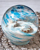 Decorative Beach Glass Orbs