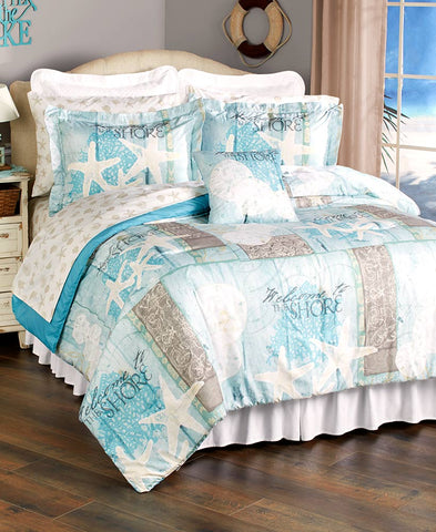 Coastal Comforter Ensemble