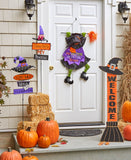 Welcoming Witch Decor