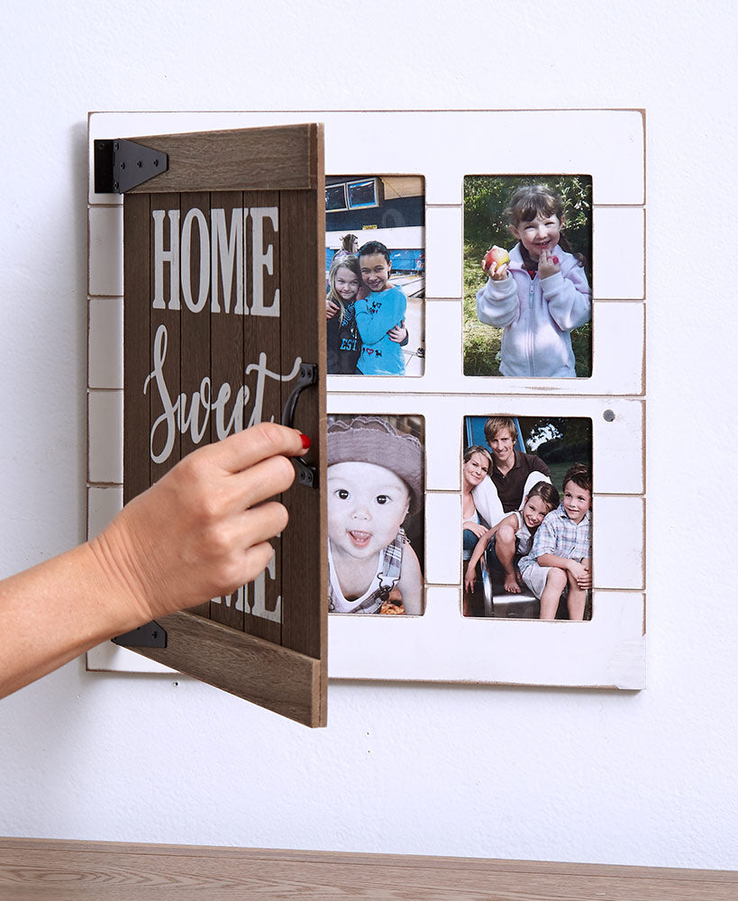 Home Sweet Home Photo Collage Frame