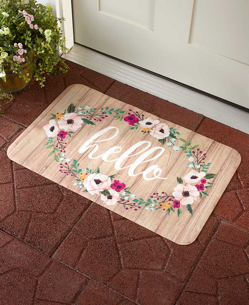 Seasonal Indoor/Outdoor Spring Doormats