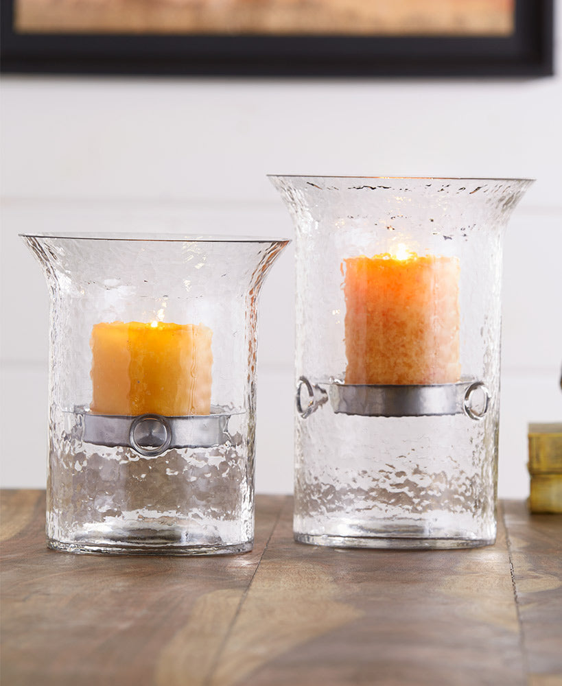 Floating Glass Candleholders