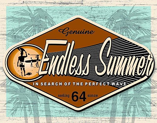 Endless Summer Genuine Tin Sign 16 x 12in
