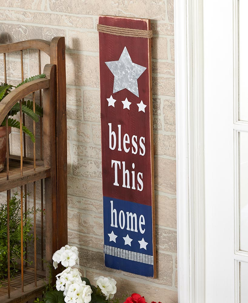 Bless This Home Sign