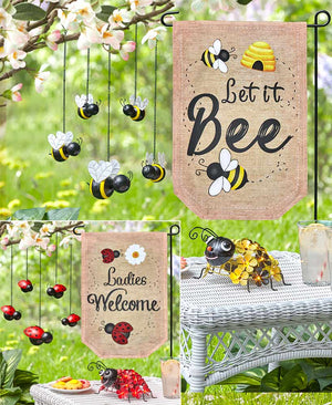 Bee or Ladybug Garden Collection