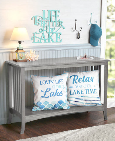 Lake Living Decor Collection