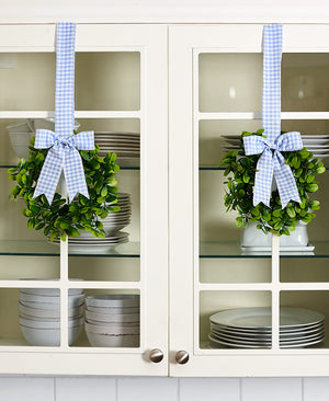 Sets of 2 Cabinet Wreaths