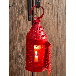 "Paul Revere Candle Lantern - 14"" H - Patriotic"