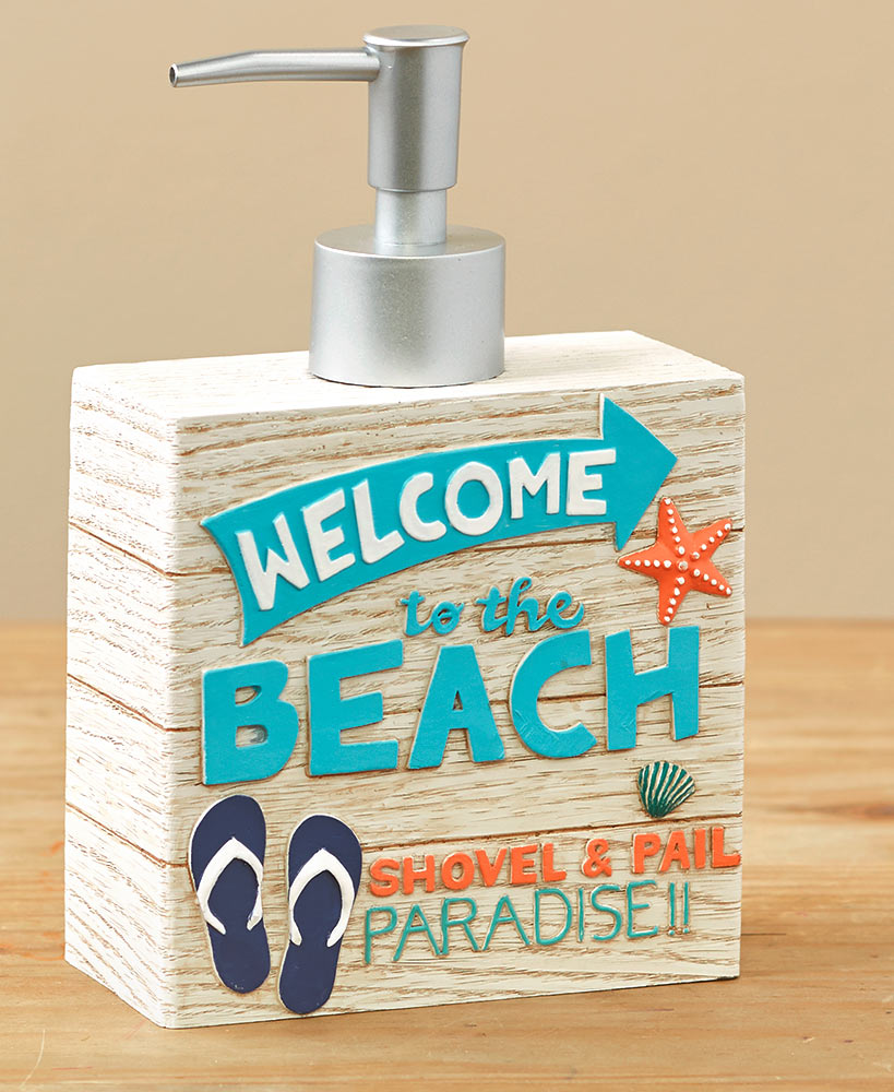 Welcome to the Beach Bathroom Collection
