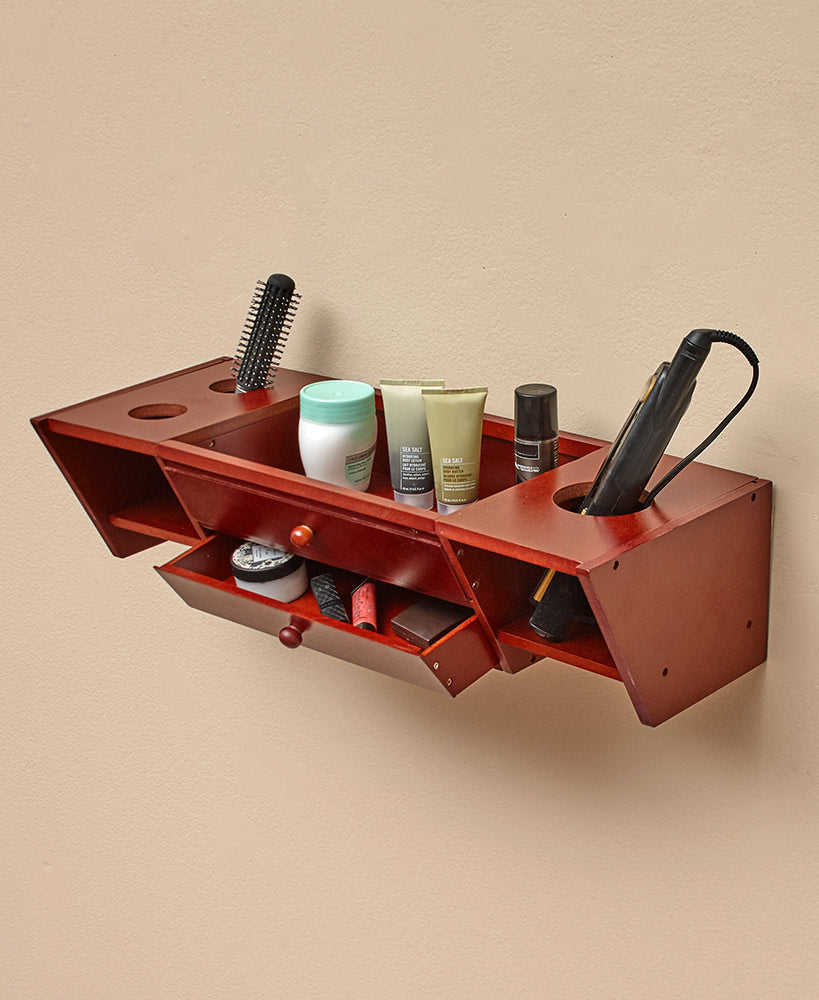 Wall-Mounted Bathroom Vanity Shelves