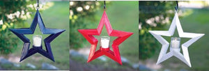 5 Point Hanging Star Votive Holder