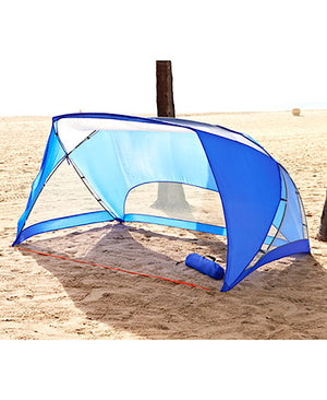 Easy-Up 9' X 6' Sun Shade Polyester, Mesh and Fiberglass Outdoors Carrying Bag