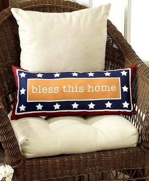 Bless this Home Doormat or Accent Pillows