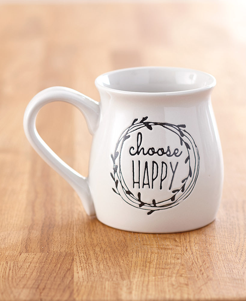 20-Oz. Sentiment Belly Mugs