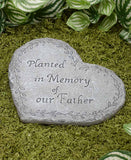 Heart-Shaped Memorial Stones