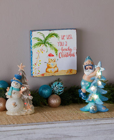 Coastal Christmas Decor Collection