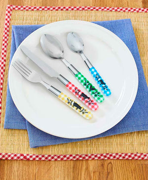 16-Pc. Themed Stainless Steel Flatware Sets